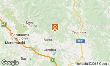 Mapa Arezzo Casa de turismo rural/Casa de campo 57056
