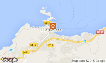 Mapa Location Ile Rousse Apartamentos 82369