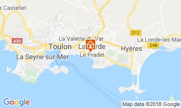 Mapa Le Pradet Estúdio 117241