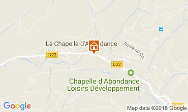Mapa La Chapelle d'Abondance Apartamentos 115949