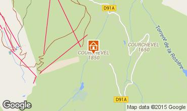 Mapa Courchevel Apartamentos 92511