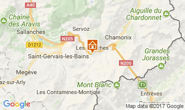 Mapa Chamonix Mont-Blanc Apartamentos 68975
