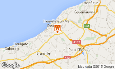Mapa Deauville Mobil Home 17224