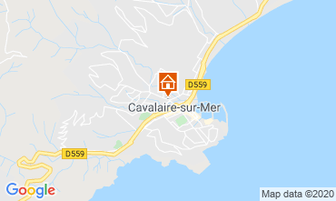 Mapa Cavalaire-sur-Mer Apartamentos 80263
