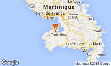 Mapa Trois Ilets Apartamentos 63028