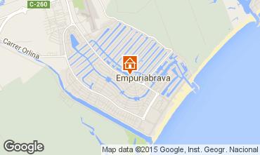 Mapa Empuriabrava Apartamentos 74320