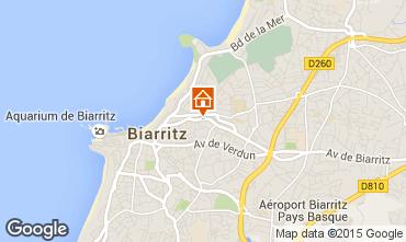 Mapa Biarritz Apartamentos 92285