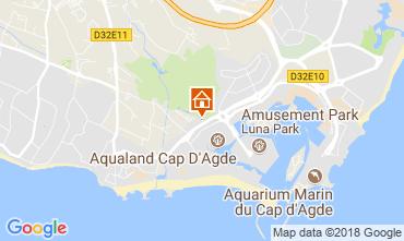 Mapa Cap d'Agde Vivenda 114991