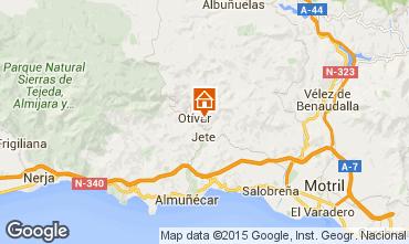 Mapa Almu�ecar Casa de turismo rural/Casa de campo 65389