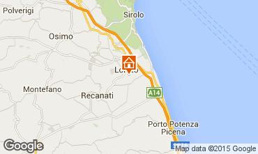 Mapa Loreto Apartamentos 87954