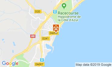 Mapa Villeneuve-Loubet Apartamentos 118861