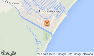 Mapa Empuriabrava Apartamentos 97991