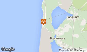 Mapa Biscarrosse Apartamentos 80894