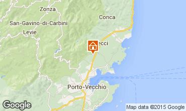 Mapa Porto Vecchio Vivenda 92380