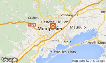 Mapa Montpellier Estúdio 102338