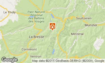 Mapa La Bresse Hohneck Chalé 4543