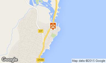 Mapa Saint Aygulf Apartamentos 55458
