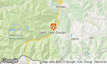 Mapa Saint Lary Soulan Apartamentos 19638