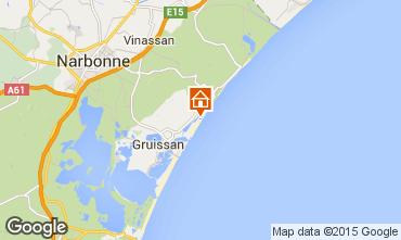 Mapa Gruissan-Plage Apartamentos 49763