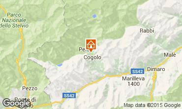 Mapa Peio (Pejo) Apartamentos 74837