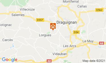 Mapa Draguignan Moinho 86770