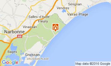 Mapa Gruissan Apartamentos 105421