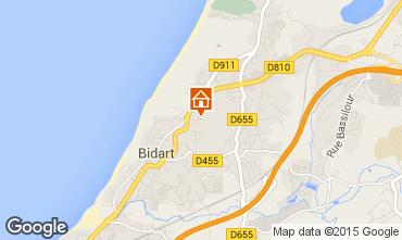 Mapa Bidart Apartamentos 68272