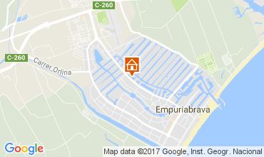 Mapa Empuriabrava Apartamentos 111912