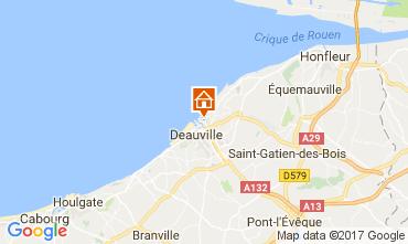 Mapa Trouville sur Mer Apartamentos 112240