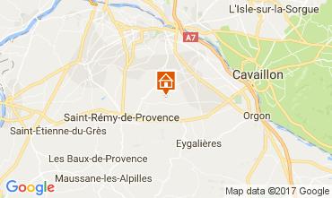 Mapa Saint Rémy de Provence Casa de turismo rural/Casa de campo 107964