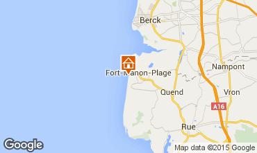 Mapa Fort Mahon Casa 66066