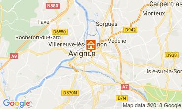 Mapa Avinhão Apartamentos 115919