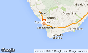 Mapa Los Cristianos Estúdio 77464