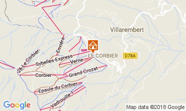 Mapa Le Corbier Estúdio 1054