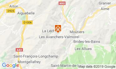 Mapa Valmorel Casa de turismo rural/Casa de campo 108304
