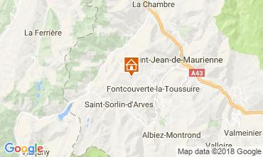 Mapa La Toussuire Chalé 52378