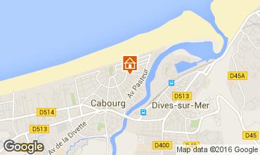 Mapa Cabourg Vivenda 103085
