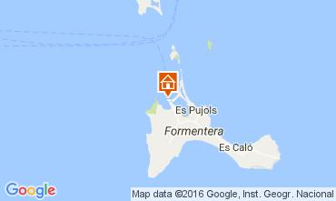Mapa Formentera Apartamentos 106437