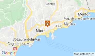 Mapa Nice Apartamentos 99697