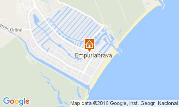 Mapa Empuriabrava Apartamentos 106611