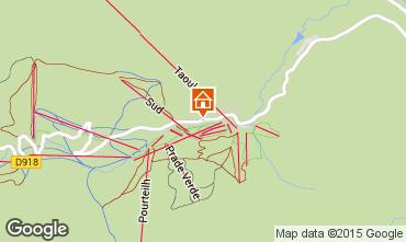 Mapa La Mongie Apartamentos 29930