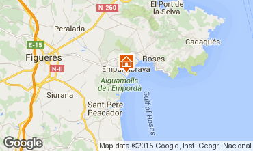 Mapa Empuriabrava Apartamentos 60216