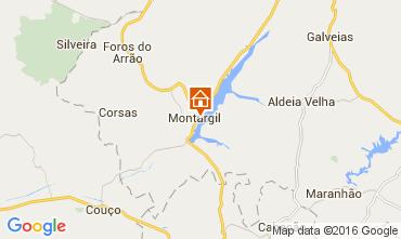 Mapa Ponte de Sor Casa de turismo rural/Casa de campo 103665