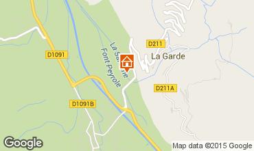 Mapa Alpe d'Huez Estúdio 58962