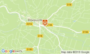 Mapa Ribeauvillé Casa de turismo rural/Casa de campo 113164