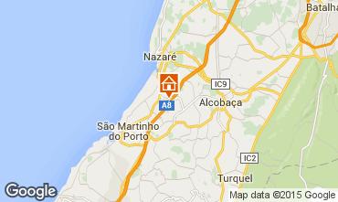 Mapa Nazaré Casa de turismo rural/Casa de campo 93017