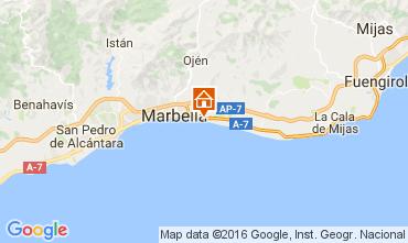 Mapa Marbelha Apartamentos 100764