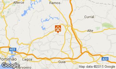 Mapa S�o Bartolomeu de Messines Casa de turismo rural/Casa de campo 75461