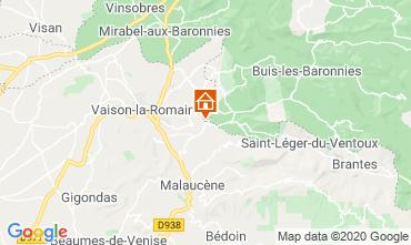 Mapa Vaison la Romaine Vivenda 111380