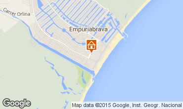 Mapa Empuriabrava Apartamentos 75850